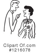 Royalty-Free (RF) Courting Clipart Illustration #1216078
