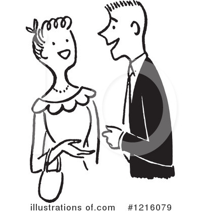 Royalty-Free (RF) Courting Clipart Illustration by Picsburg - Stock Sample #1216079