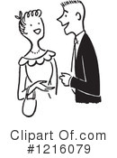 Royalty-Free (RF) Courting Clipart Illustration #1216079