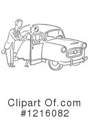 Royalty-Free (RF) Courting Clipart Illustration #1216082
