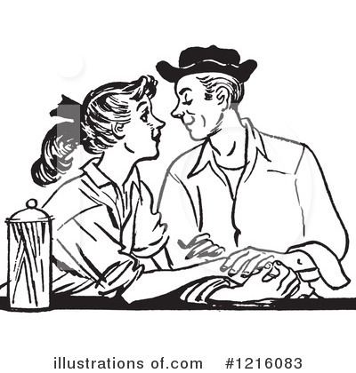Courting Clipart #1216083 by Picsburg