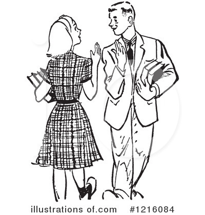 Courting Clipart #1216084 by Picsburg