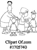 Covid19 Clipart #1705740 by djart