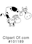 Cow Clipart #101189 by Hit Toon