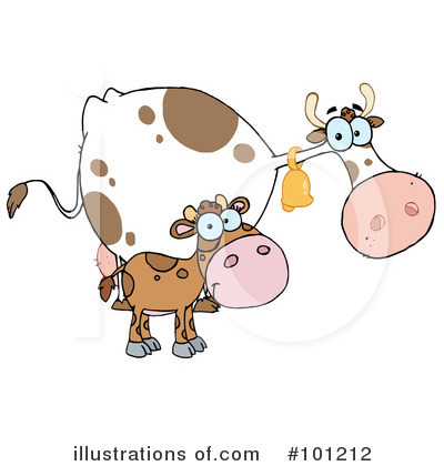 Cow Clipart #101212 by Hit Toon