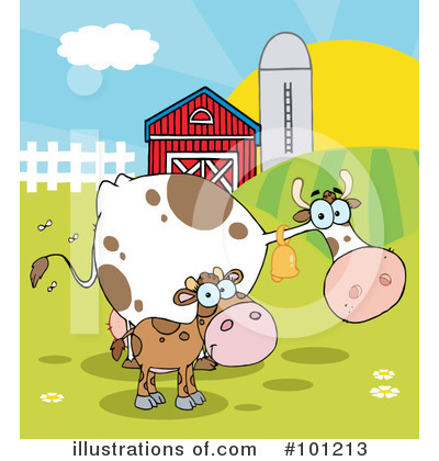 Cow Clipart #101213 by Hit Toon