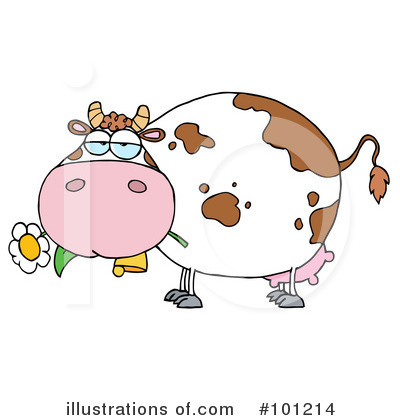 Cow Clipart #101214 by Hit Toon