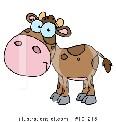 Cow Clipart #101215 by Hit Toon