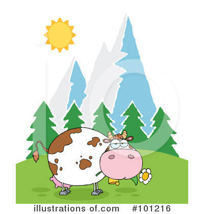 Cow Clipart #101216 by Hit Toon