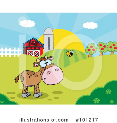 Cow Clipart #101217 by Hit Toon