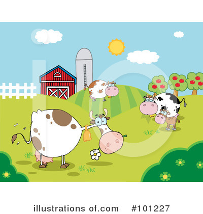 Cow Clipart #101227 by Hit Toon