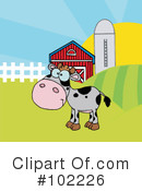 Cow Clipart #102226 by Hit Toon