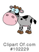 Cow Clipart #102229 by Hit Toon