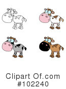Cow Clipart #102240 by Hit Toon