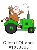 Royalty-Free (RF) Cow Clipart Illustration #1093696
