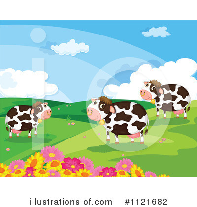 Cow Clipart #1121682 by Graphics RF