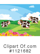 Royalty-Free (RF) Cow Clipart Illustration #1121682