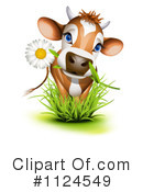 Cow Clipart #1124549 by Oligo