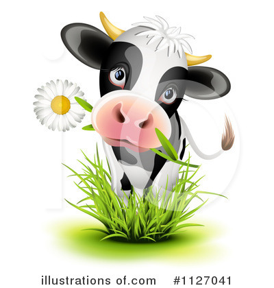 Cow Clipart #1127041 by Oligo