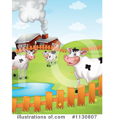 Cow Clipart #1130807 by Graphics RF