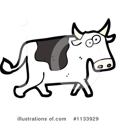Cow Clipart #1133929 by lineartestpilot