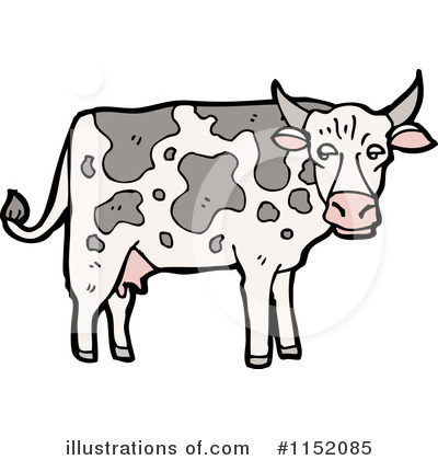 Cow Clipart #1152085 by lineartestpilot