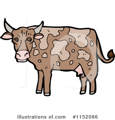 Cow Clipart #1152086 by lineartestpilot