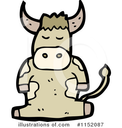 Cow Clipart #1152087 by lineartestpilot