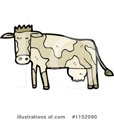Cow Clipart #1152090 by lineartestpilot