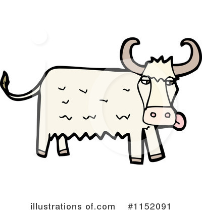 Cow Clipart #1152091 by lineartestpilot