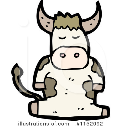 Cow Clipart #1152092 by lineartestpilot
