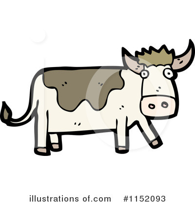 Cow Clipart #1152093 by lineartestpilot