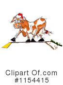 Cow Clipart #1154415 by Spanky Art