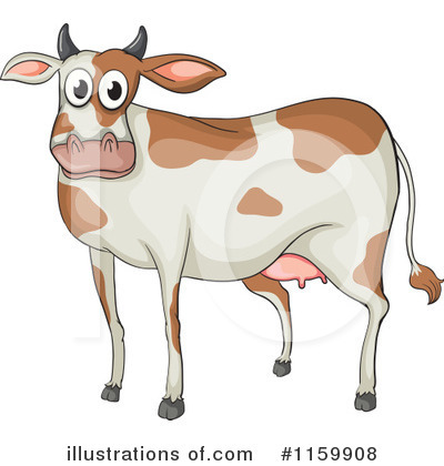 Cow Clipart #1159908 by Graphics RF