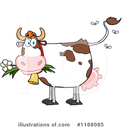 Cow Clipart #1168085 by Hit Toon