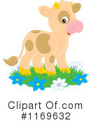 Cow Clipart #1169632 by Alex Bannykh