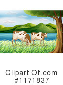 Royalty-Free (RF) Cow Clipart Illustration #1171837