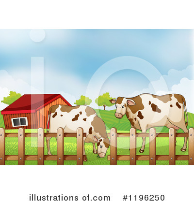 Cow Clipart #1196250 by Graphics RF