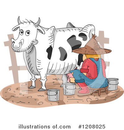 Dairy Clipart #1208025 by BNP Design Studio