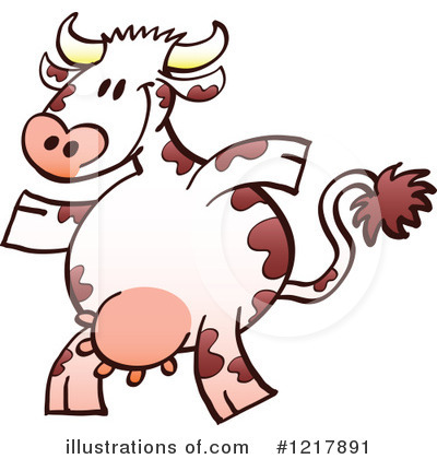 Cow Clipart #1217891 by Zooco