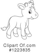 Cow Clipart #1223835 by Alex Bannykh