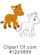 Cow Clipart #1223839 by Alex Bannykh