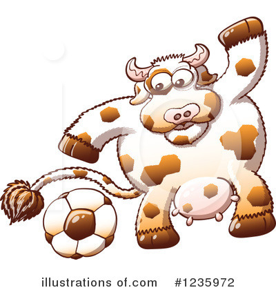 Cow Clipart #1235972 by Zooco