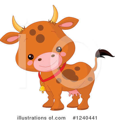 Cow Clipart #1240441 by Pushkin