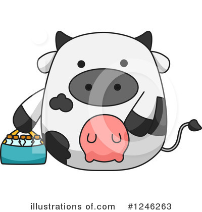 Dairy Clipart #1246263 by BNP Design Studio