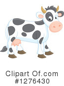 Royalty-Free (RF) Cow Clipart Illustration #1276430