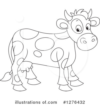 Cow Clipart #1276432 by Alex Bannykh