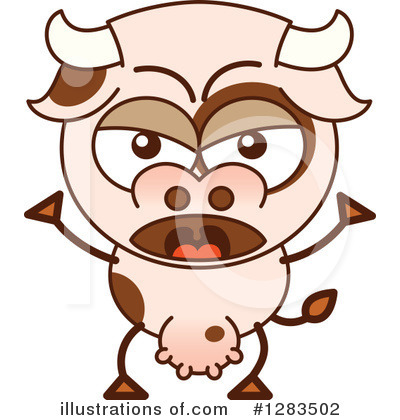 Cow Clipart #1283502 by Zooco