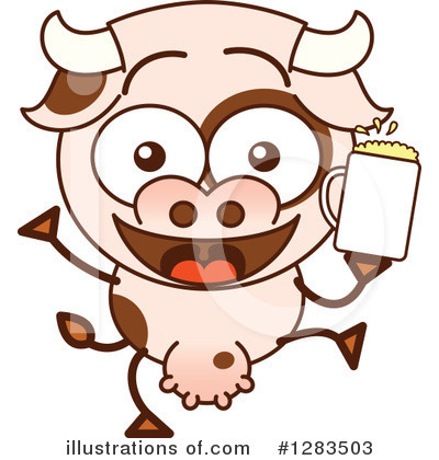 Cow Clipart #1283503 by Zooco