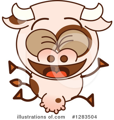 Cow Clipart #1283504 by Zooco